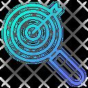 Target Keyword Seo Icon