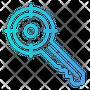 Target Keyword Key Keyword Icon