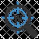 Target Keyword Seo Seo Icons Icon