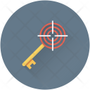Keywording Seo Key Icon