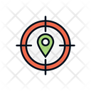 Target Location Target Place Location Pointer Icon