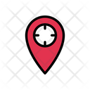 Map Target Location Icon