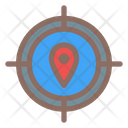 Target Map Pin Icon