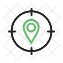 Target Location Pin Icon