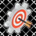Target Management Target Setting Target Configuration Icon