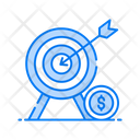 Target Market Target Board Bullseye Icon