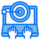 Goal Dartboard Computer Icon