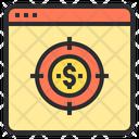 Target money Icon