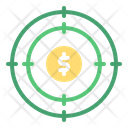 Target Money Target Coin Icon