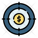 Target Bank Coin Icon