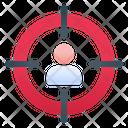 Target People Target Marketing Icon