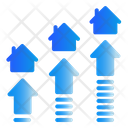 Investation Real Estate Traffic Icon