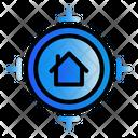 Target Property Market Icon