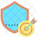 Security Target Shield Icon