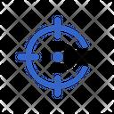 Target Setting Target Setting Icon