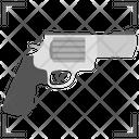 Target Shooting Gun Shooting Gun Target Icon