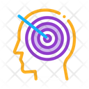 Target To Brain Icon