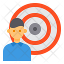 Target Business Humman Resource Icon