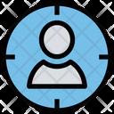Target User Target People Icon