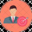 Target User Customer Target Seo Icon