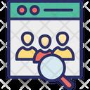 Ecommerce Market Analysis Seo Icon