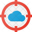 Targeted cloud Icon