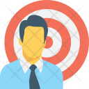 Targeted employee Icon