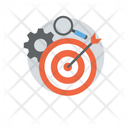 Targeting Marketing Strategy Marketing Campaign Icon