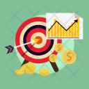Targeting Business Finance Icon
