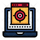 Targeting And Seo Business Marketing Icon
