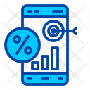 Discount Target Sale Icon