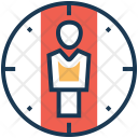 Targeting Standing Person Icon