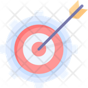 Targeting Process Aim Dartboard Icon