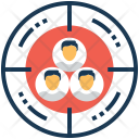 Targeting users Icon