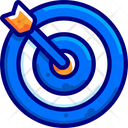 Targets Goals Vision Icon