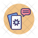 Tarot Card Reading Icon