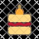Tart Food Dessert Icon