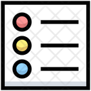 Business Financial List Icon