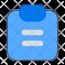 Paper Task List Icon
