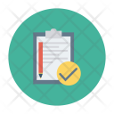 Task Complete Clipboard Icon