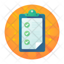 Completed Task Checklist Icon