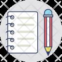 Task Writing Sheet Icon