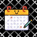 Task Schedule Calendar Icon