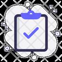 Task Tick Clipboard Icon