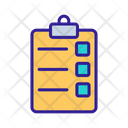Operating Task List Icon