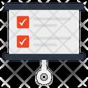 Graphical Presentation Worksheet Bulletin Icon