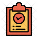 Clipboard Checklist List Of Task Icon