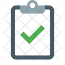 Task Completed Inspection Icon