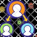 Task Delegation Task Assigned Employee Task Icon