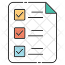 Survey Todo List Checklist Icon